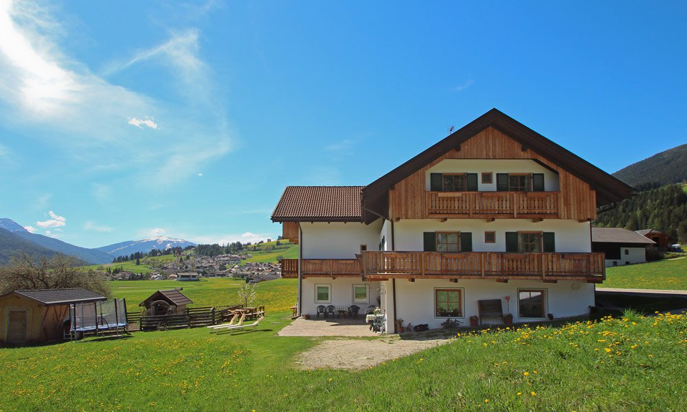 Our comfortable holiday house in the Pusteria Valley